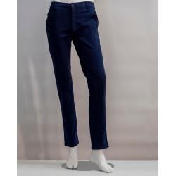 Pantaloni estivi colore blu